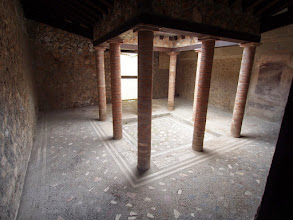 Photo: Interior courtyard, used to gather water and for light