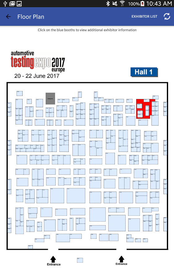 Automotive Testing EXPO Europe – Screenshot