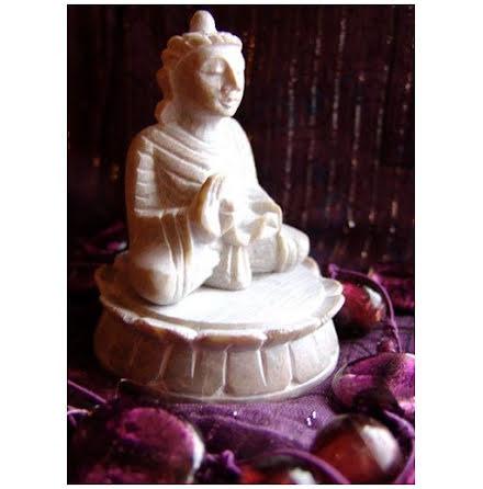 Lotus med Buddha
