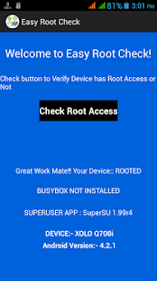 Easy Root Check- screenshot thumbnail