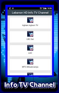 Lebanon HD Info TV Channel - náhled