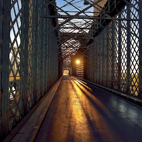 Bridge over the Vistula by Mirek. Mirek. - Buildings & Architecture Bridges & Suspended Structures