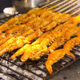 Spicy Cajun BBQ Shrimp
