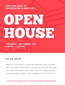 Elementary Open House - Flyer item