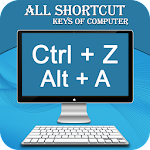 Computer Shortcut Keys : Software Shortcut Keys Icon