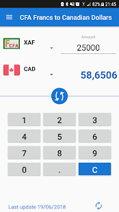 This Free Currency Converter Can Convert Cfa Francs And Canadian Dollars Currencies The Exchange Rates Are Daily Updated