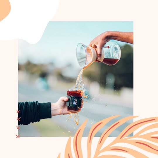 Coffee Splash - Instagram Post Template