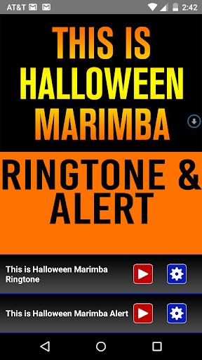 This is Halloween Marimba Tone