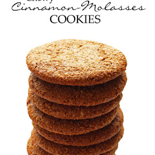 Gluten-Free Chewy Cinnamon-Molasses Cookies