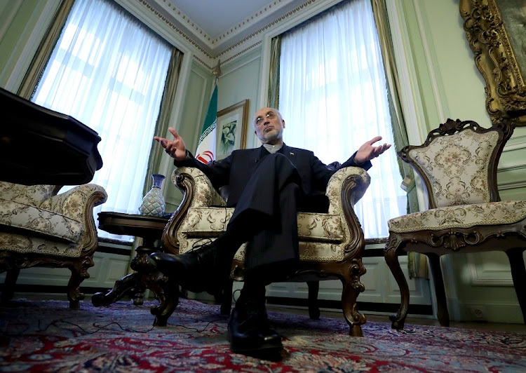 Iranian nuclear chief Ali Akbar Salehi in Brussels, Belgium, November 27 2018. Picture: REUTERS/YVES HERMAN