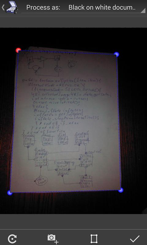 Mobile Doc Scanner (MDScan) + OCR Screenshot 0