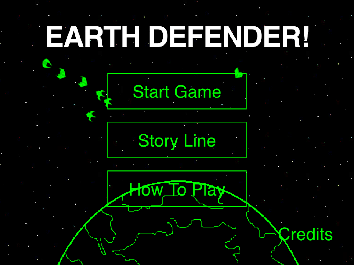 Earth Defender- screenshot