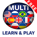 Learn and play MULTI lingual 1000 words icon