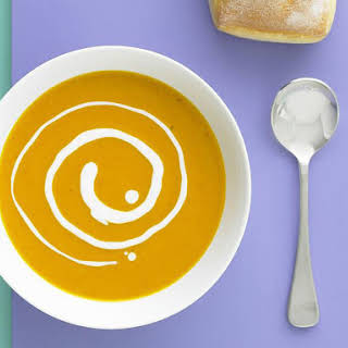 Curried Pumpkin and Coconut Soup.