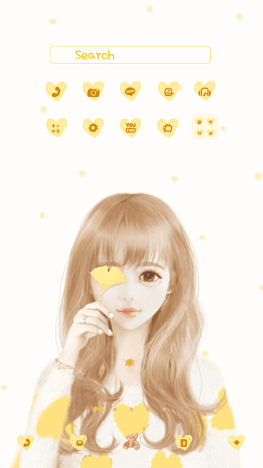 nana yellow DodolLauncherTheme