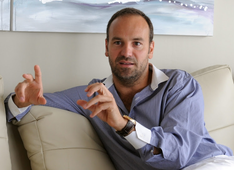 South African entrepreneur and multibillionaire Mark Shuttleworth. Picture: BUSINESS DAY