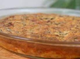 Crustless Bacon, Mushroom and Cheese Quiche