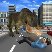 Angry Dinosaur City Attack Simulator 3D