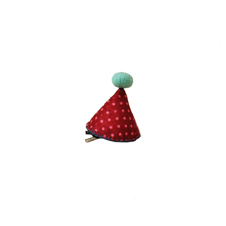 PARTY HAT CLIP RED by STH Creative S/B