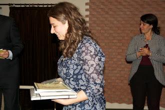 """Photo: Piccolo Agone Placidiano 2015: Vincitrice per il Liceo Classico """"Trisi - Graziani"""" di Lugo : Martina Rumi (2° anno)"""