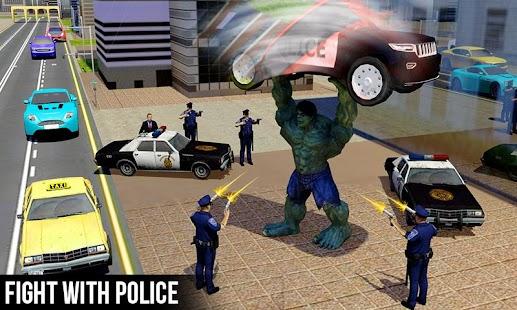 Superhero Monster Grand City Battle - náhled