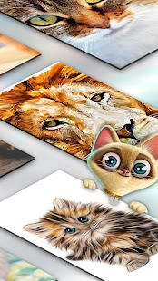 Cat Wallpapers for Home Screen - náhled