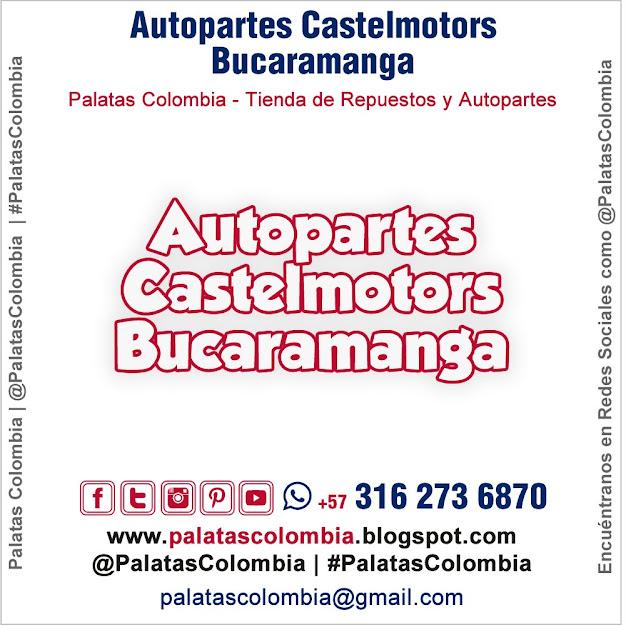 Autopartes Castelmotors Bucaramanga