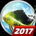 Let's Fish: Sport Fishing Game. Fishing simulator icon