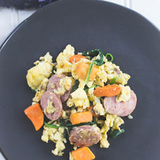 Whole30 Breakfast Scramble.