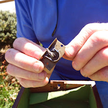 Photo: The lock mechanism