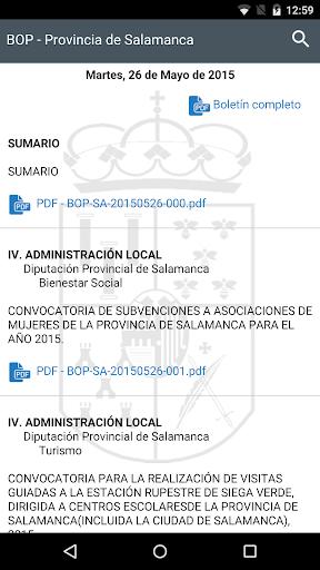 BOP Diputación de Salamanca