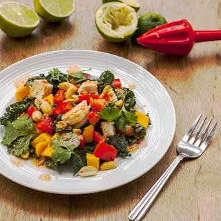Thai Chicken, Kale & Mango Salad