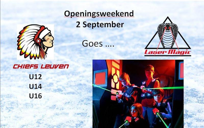 Openingsweekend Update!!! U12/U14/U16 Event