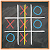 Tic Tac Toe on blackboard file APK Free for PC, smart TV Download