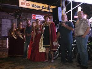 Photo: Ansprache zur Rheinfete von unserem Klaus, dem Bürgermeister von Braubach und dem Bacchus und seinem Gefolge.
