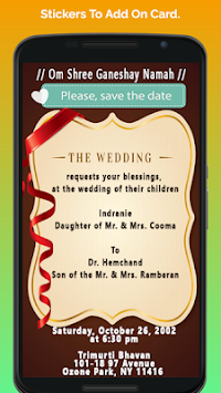 Download hindu wedding invitation cards apk latest version app for hindu wedding invitation cards poster stopboris Choice Image