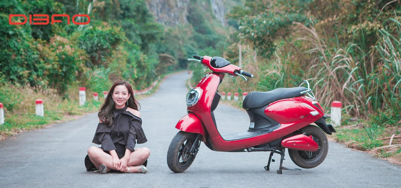 Xe máy điện Dibao Butterfly là mẫu xe đáng tiền