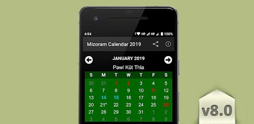 Mizoram Calendar 2019 8 0 (Android) - Download APK