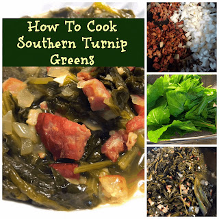 How to Cook Southern Turnip Greens.