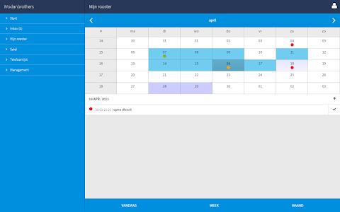 Dyflexis Planning screenshot 6