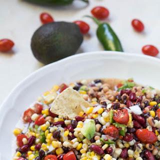 Vegetarian Bean Dip.