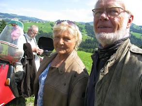 Photo: ..Ingrid und Dietmar feuen sich, gleich geht es weiter..