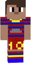 Leo Messi wearing 2015-16 season jersey. Sorry about leaving out the tattoos. :)