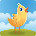The Yellow Chick Farm - Animals Sounds and Games icon