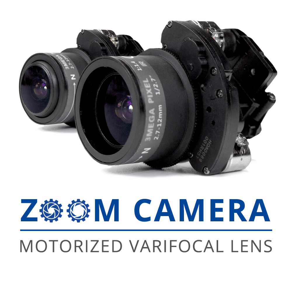 zoom lens security camera
