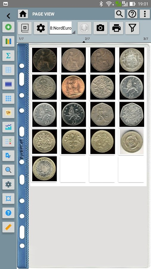 Pocket Coins Collection Lite- screenshot