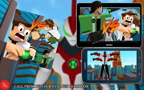 call from BEN 10 & EVIL BEN 10 roblox - náhled