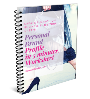 Personal Brand Profile in 5 Minutes Worksheets