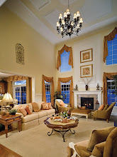 Photo: The great room in the SAXON GRAND model at Addison Estates