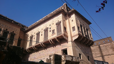 Photo: haveli (townhouse of rich salesmen), mandawa